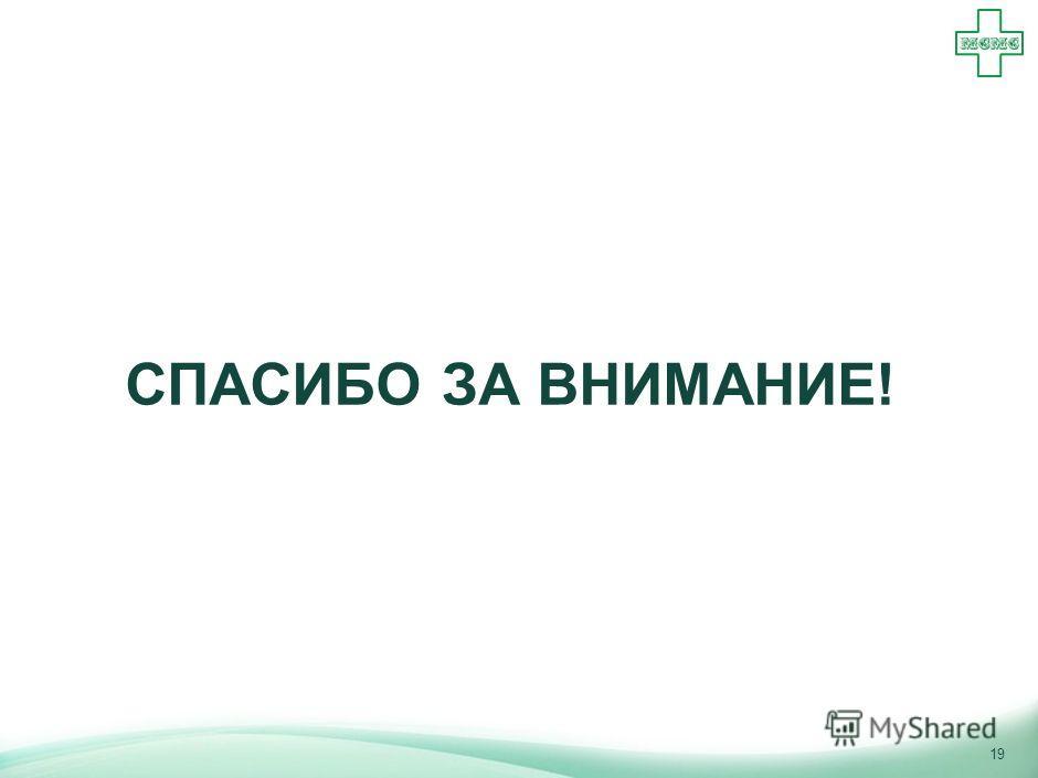18 Для повышения эффективности системы медицинского страхования в России рекомендуется увеличить роль и ответственность частных СМО при одновременном усилении государственного регулирования Ожидаемый результатОписаниеРекомендация Принятие СМО части с
