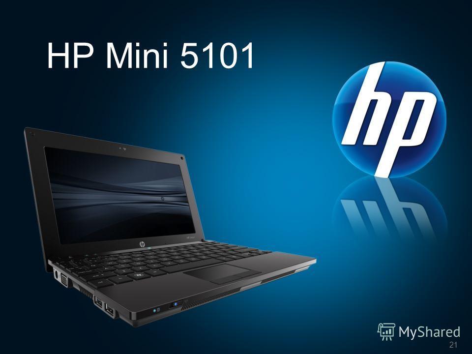 21 HP Mini 5101