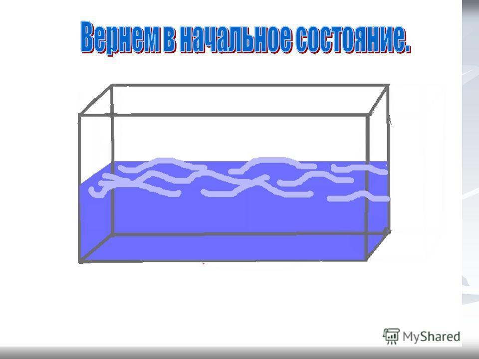 Молекулы воды в твердом теле (во льде) колеблются на одном месте в различных направлениях. Они образуют кристаллическую решетку. Силы взаимодействия между Молекулами твердого тела очень велики, поэтому твердое тело сохраняет форму и объем. Поведение