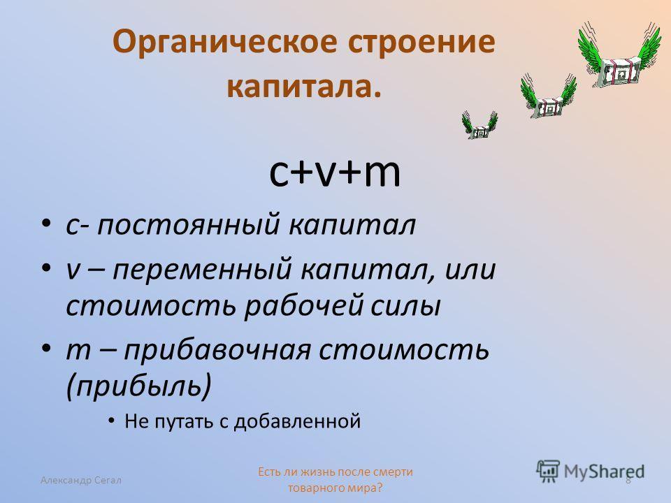 Органическое строение