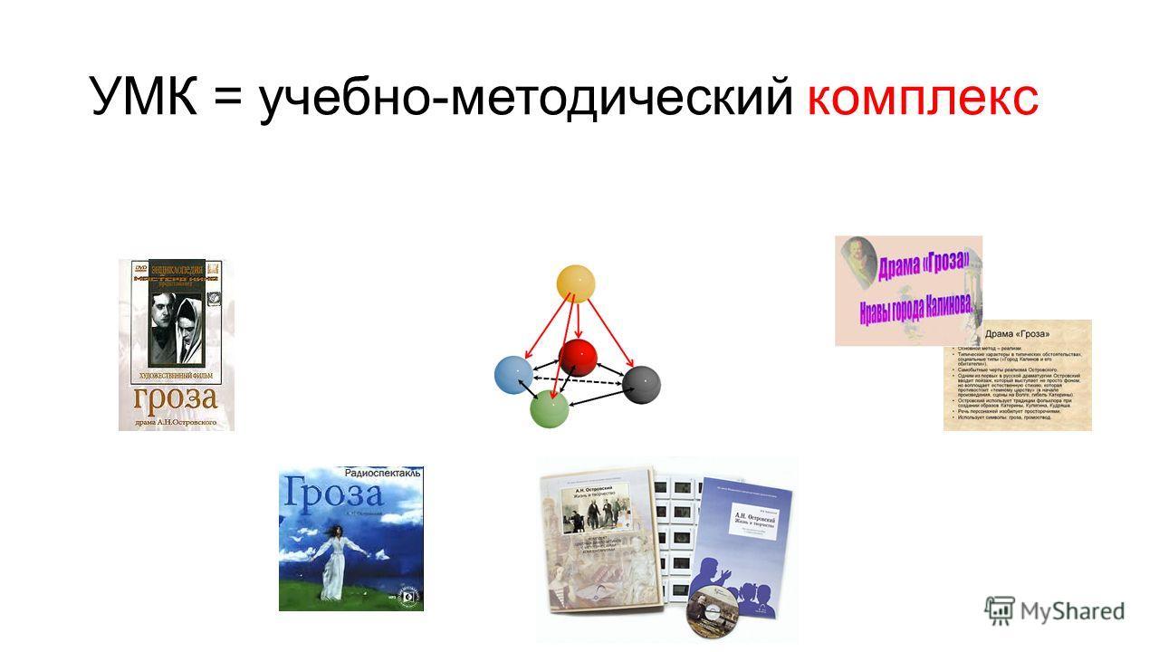 УМК = учебно-методический комплекс