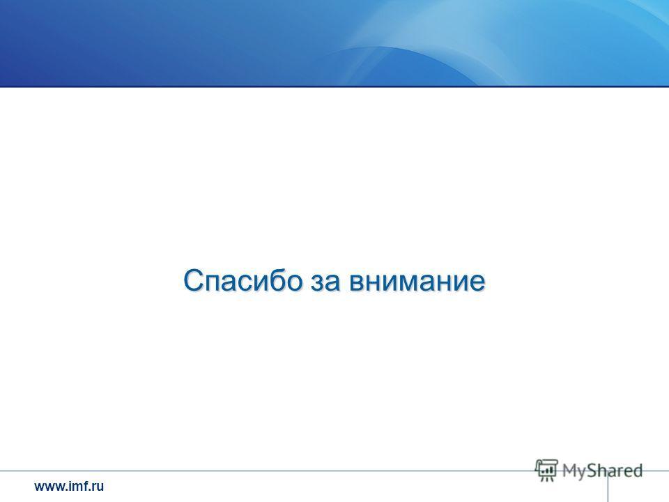 www.imf.ru Спасибо за внимание