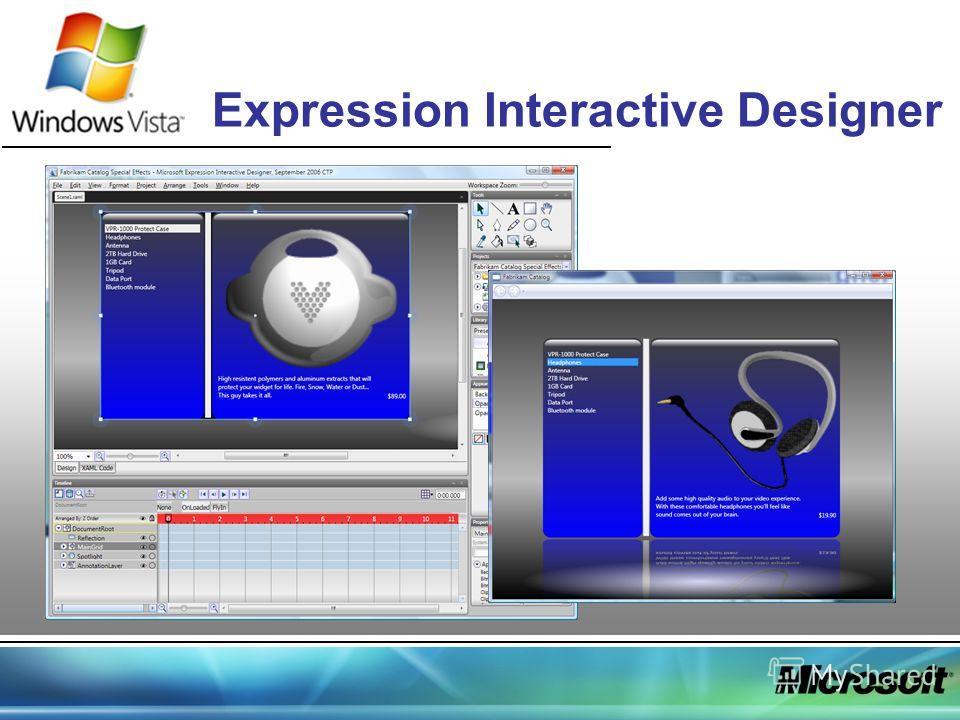 Expression Interactive Designer
