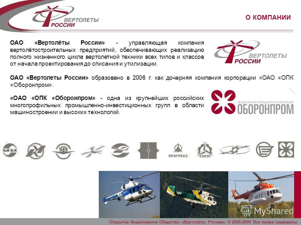 Открытое Акционерное Общество «Вертолёты России». © 2009 Все права защищены. СОСТОЯНИЕ НАЦИОНАЛЬНОЙ СЕТИ АЭРОПОРТОВ Сокращение аэродромной сети на 70%. Сокращение аэродромной сети происходит преимущественно за счет аэродромов классов «Г», «Д» и «Е»,