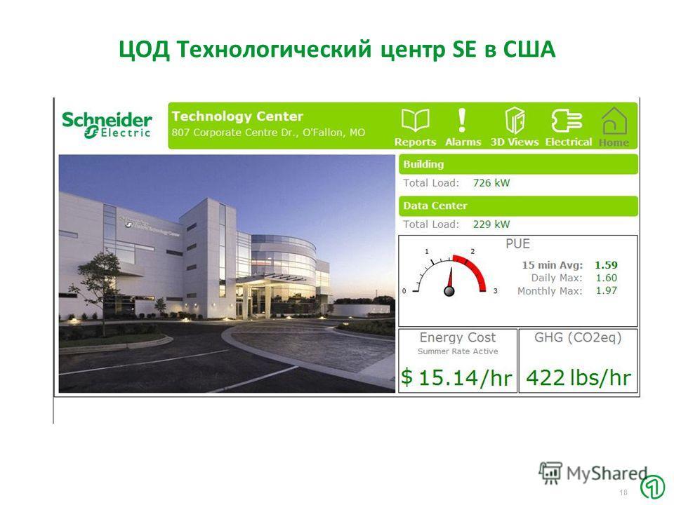 18 ЦОД Технологический центр SE в США