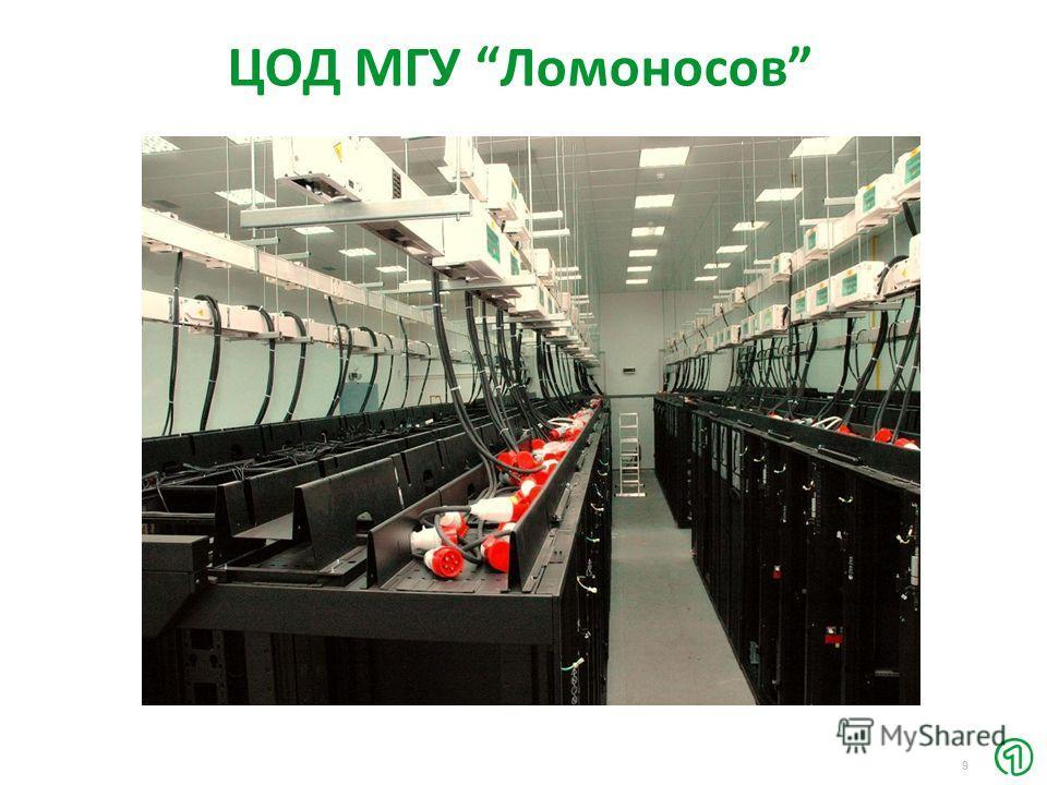 9 ЦОД МГУ Ломоносов