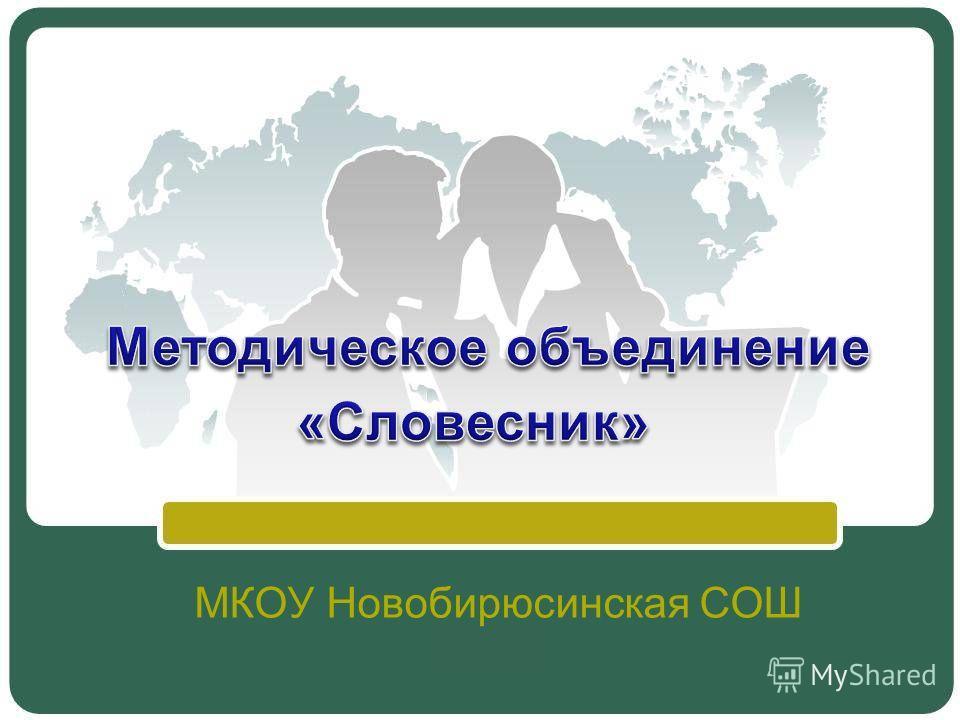 МКОУ Новобирюсинская СОШ