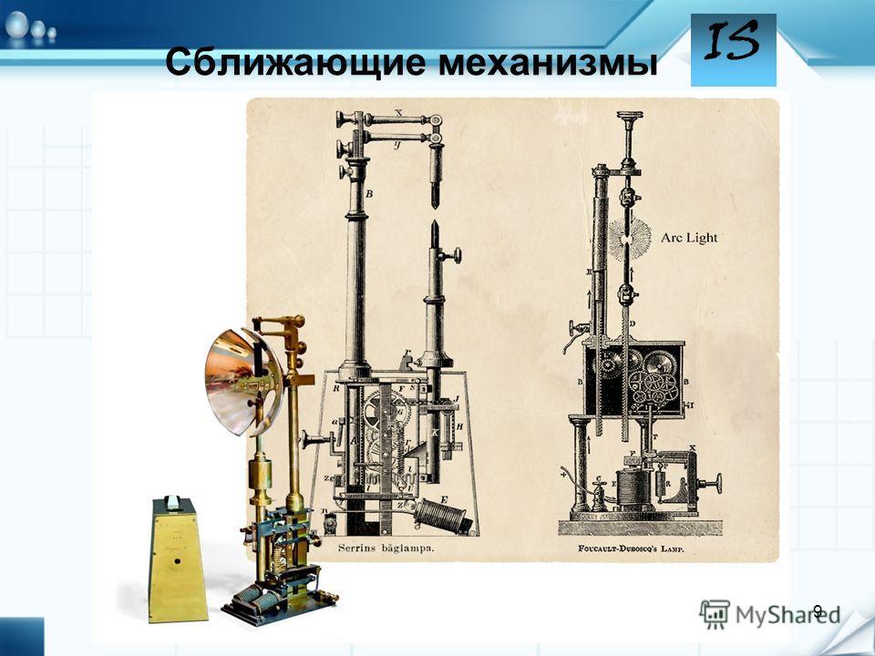 IS 9 Сближающие механизмы