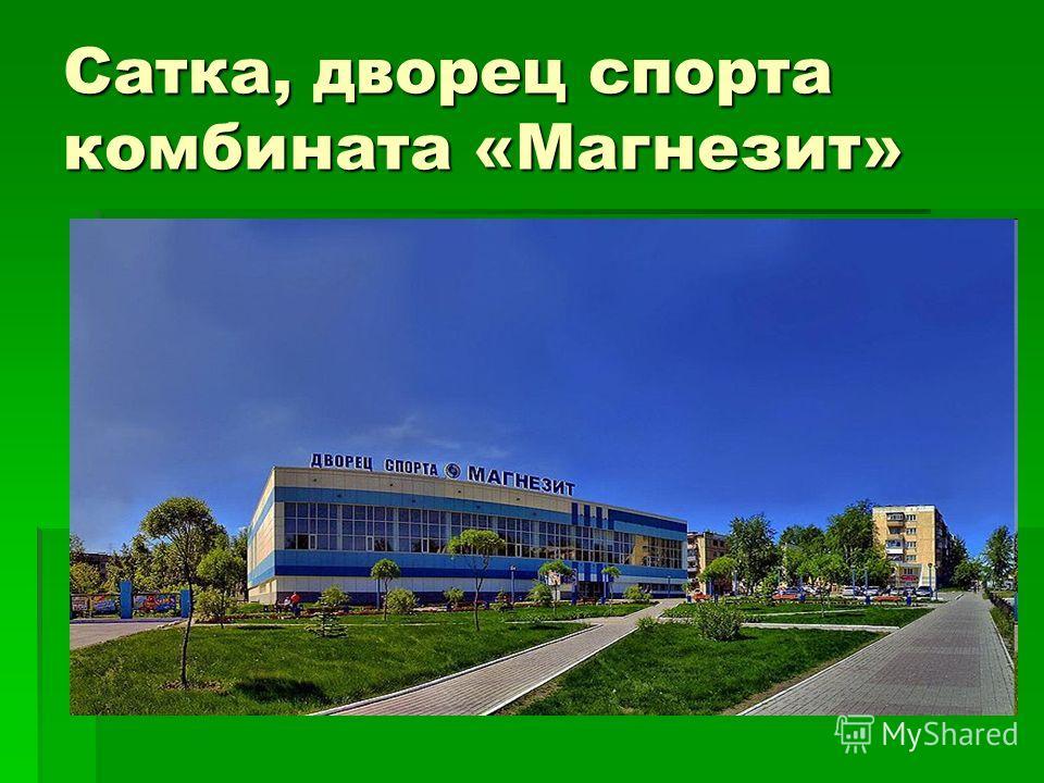 Сатка, дворец спорта комбината «Магнезит»