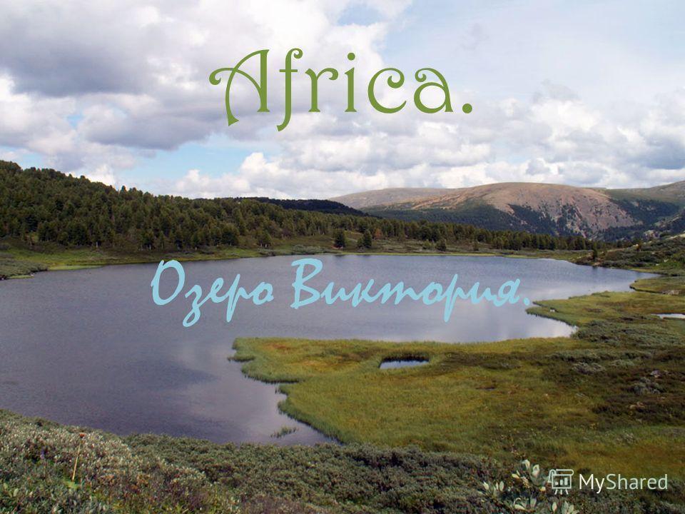 Africa. Озеро Виктория.