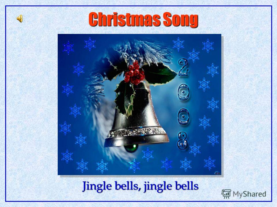 Christmas Song Jingle bells, jingle bells