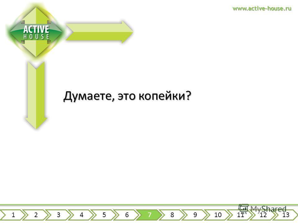 www.active-house.ru Думаете, это копейки? 12345678910111213