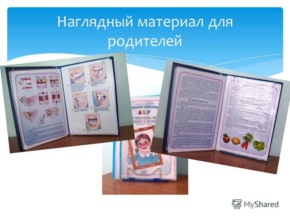 Наглядный материал для родителей