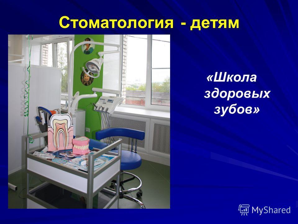 Стоматология - детям «Школа здоровых зубов»