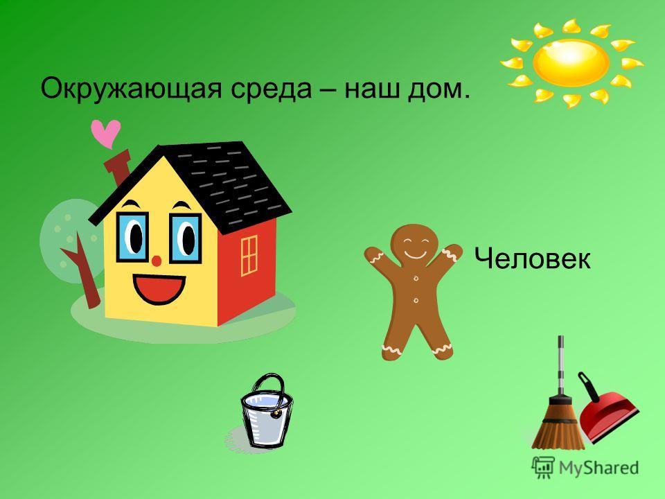 Окружающая среда – наш дом. Человек