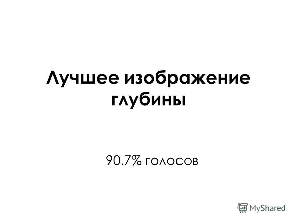 Лучшее изображение глубины 90.7% голосов