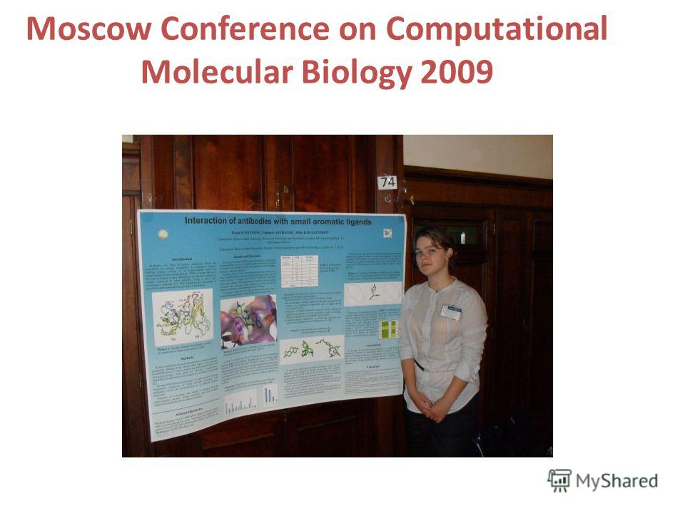 Moscow Conference on Computational Molecular Biology 2009