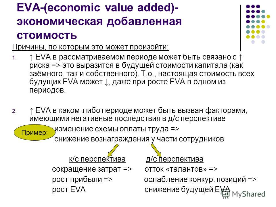 economic value added Definition of economic value added in the financial dictionary - by free online english dictionary and encyclopedia what is economic value added meaning of economic value added as a finance term.