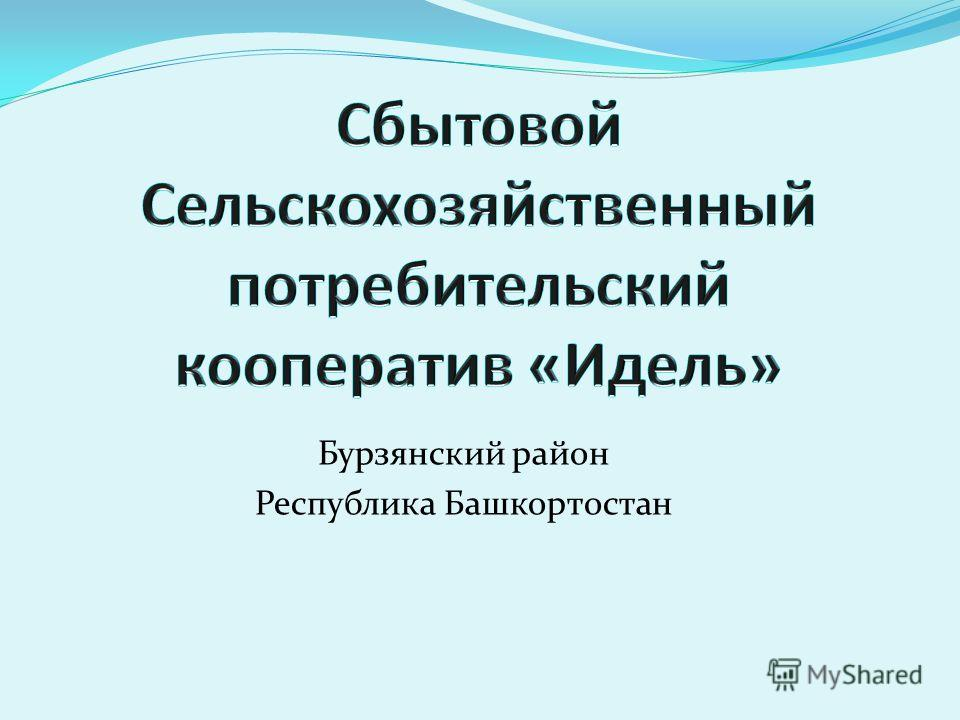 Бурзянский район Республика Башкортостан