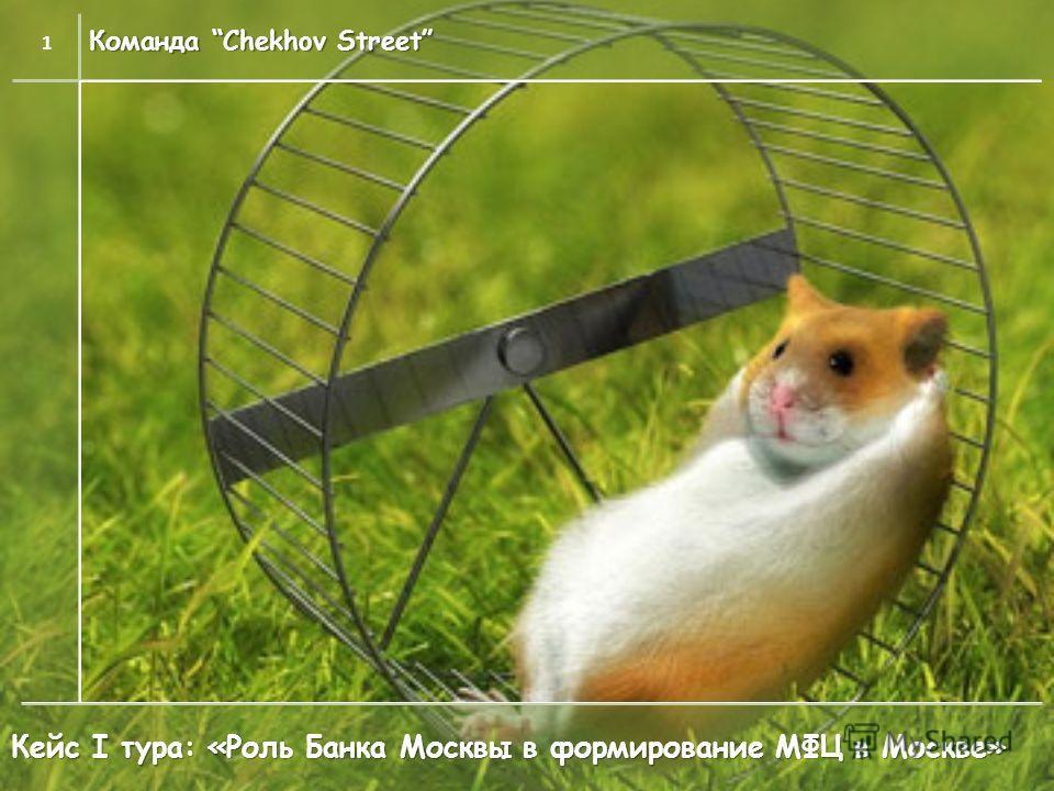 Команда Chekhov Street 1 Кейс I тура: «Роль Банка Москвы в формирование МФЦ в Москве»