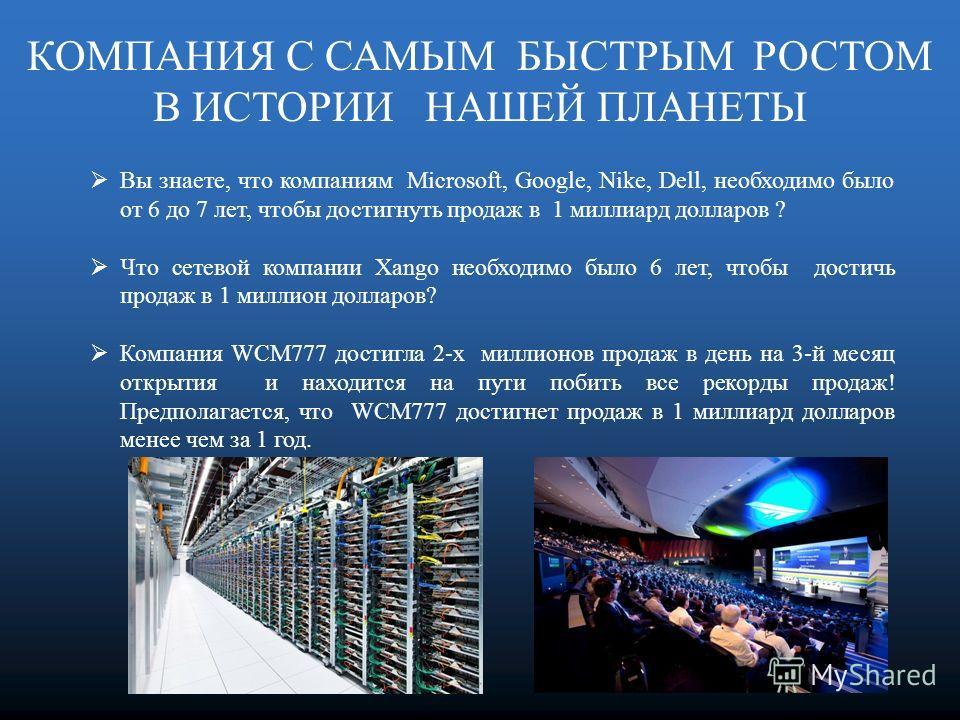 26 ноября 2012 года, WCM777 подписала договор о сотрудничестве c Siemens IT Solutions and Services Group (