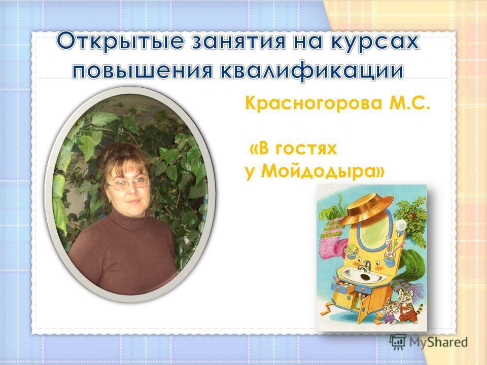 Красногорова М.С. «В гостях у Мойдодыра»