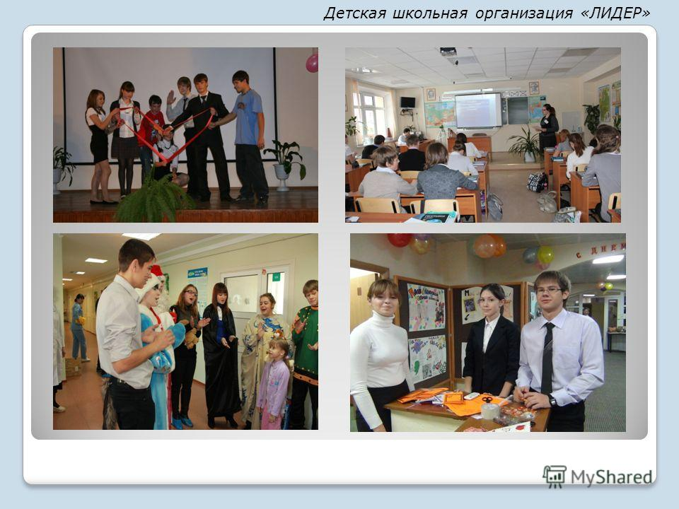Детская школьная организация «ЛИДЕР»