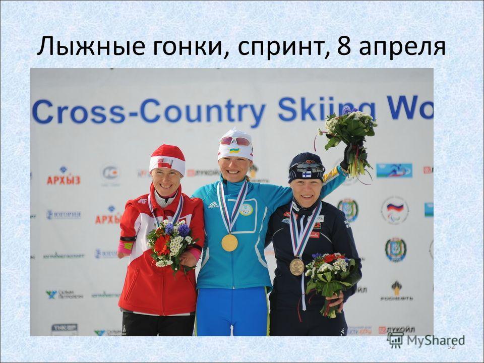 Лыжные гонки, спринт, 8 апреля 52