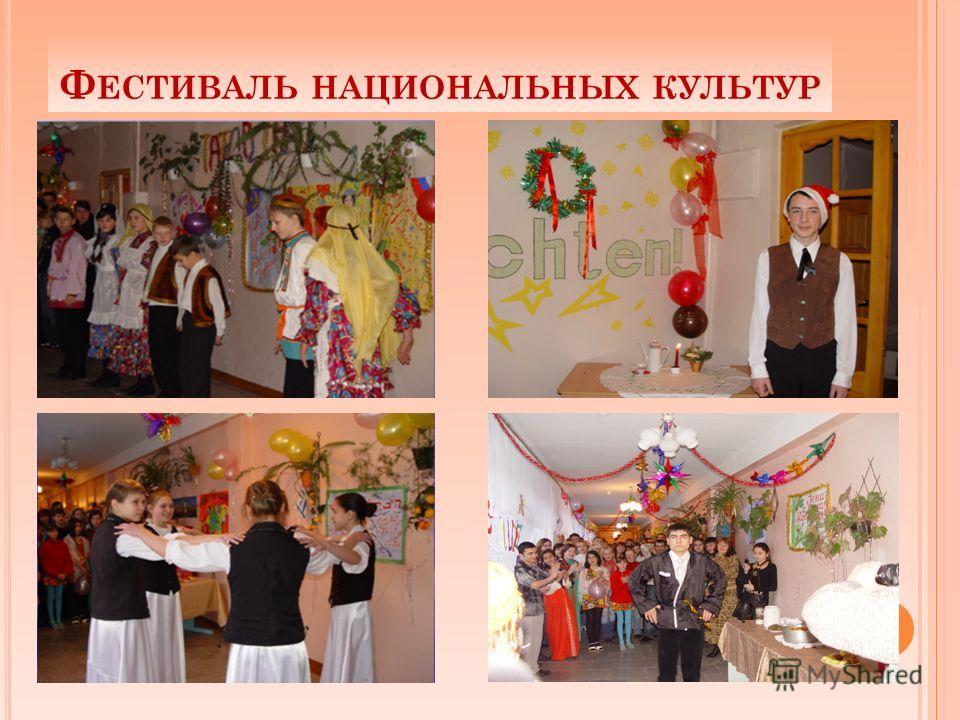 Ф ЕСТИВАЛЬ НАЦИОНАЛЬНЫХ КУЛЬТУР