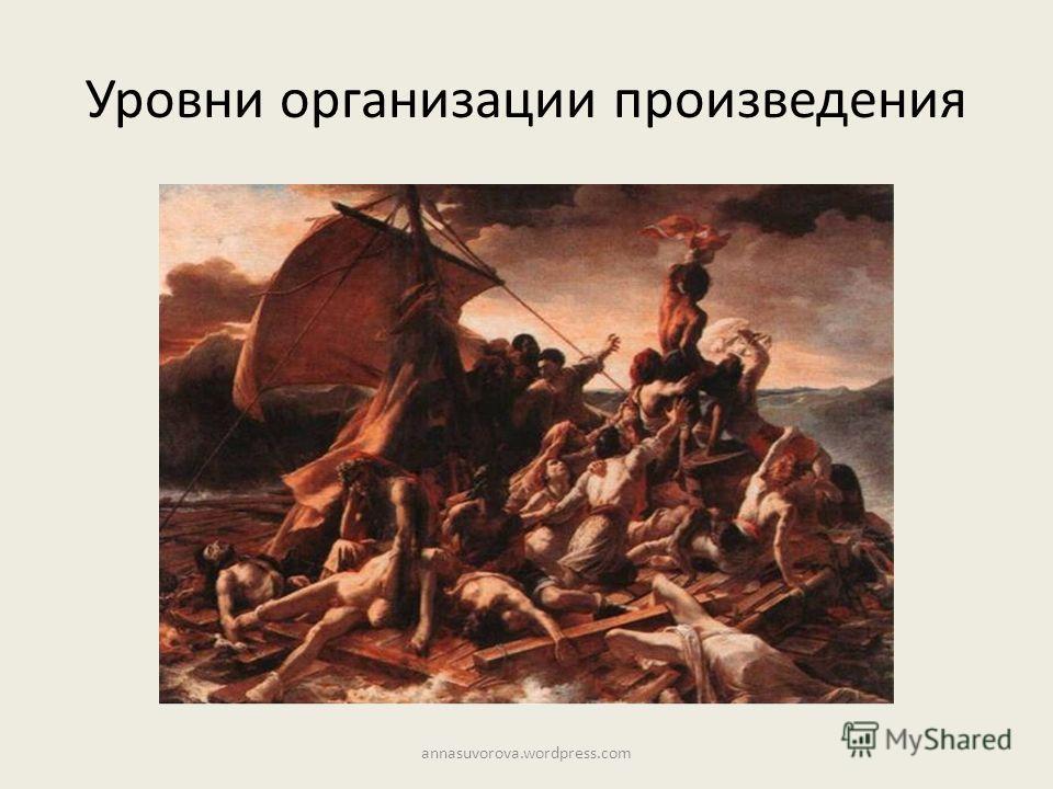 Уровни организации произведения annasuvorova.wordpress.com