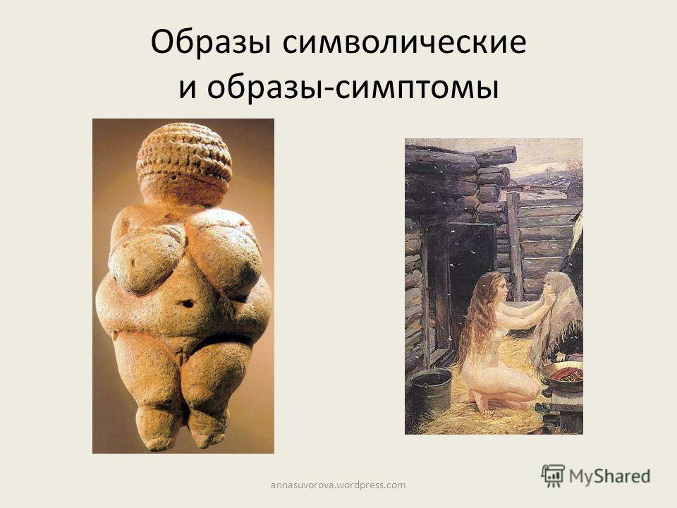 Образы символические и образы-симптомы annasuvorova.wordpress.com