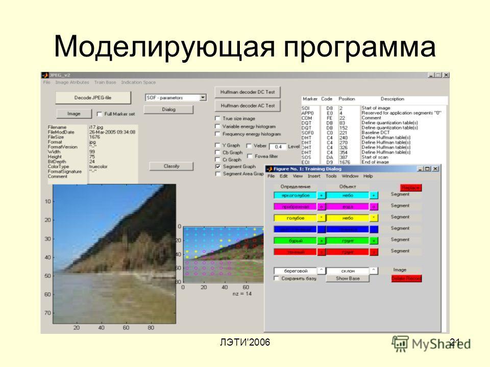 ЛЭТИ'200621 Моделирующая программа