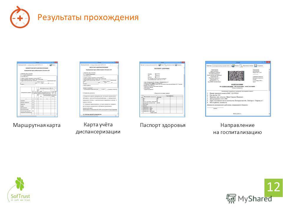 11 Информационная система «ТМ: Диспансеризация» в составе «ТМ: МИС»