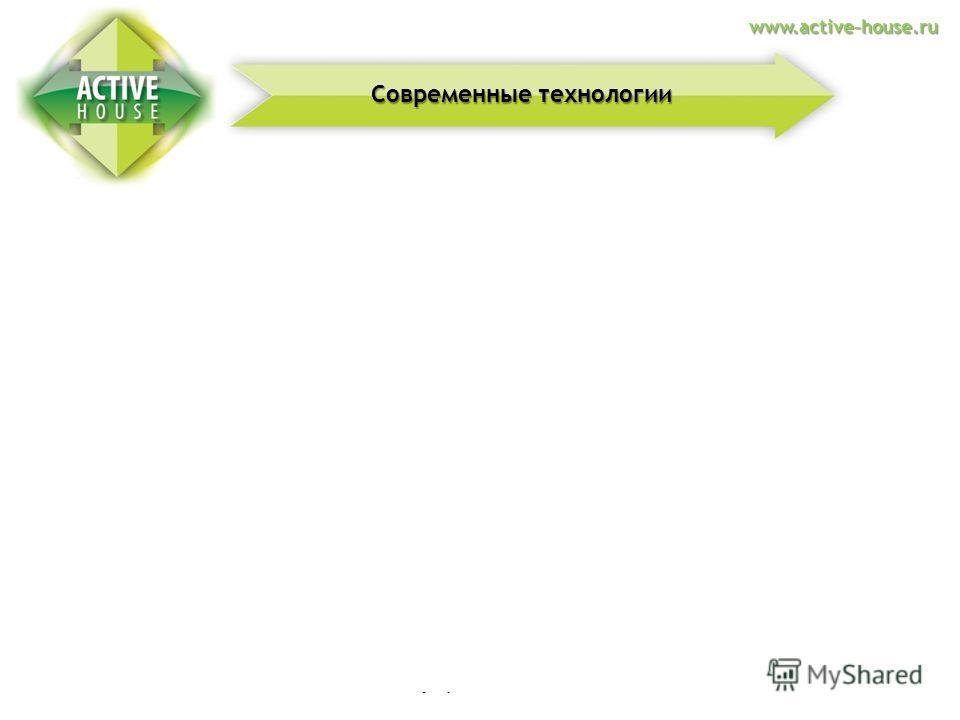 Альтернативная энергтия Современные технологии в строительстве Полное управление домом Современные технологии www.active-house.ru