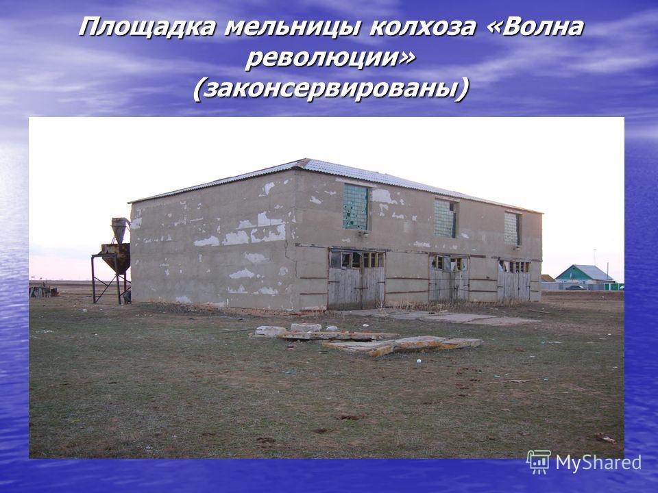 Площадка мельницы колхоза «Волна революции» (законсервированы)