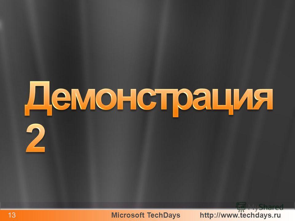 Microsoft TechDayshttp://www.techdays.ru13