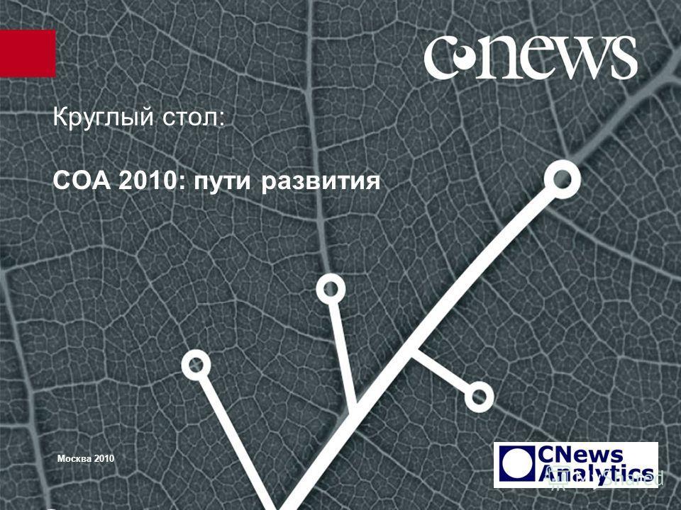Круглый стол: СОА 2010: пути развития Москва 2010