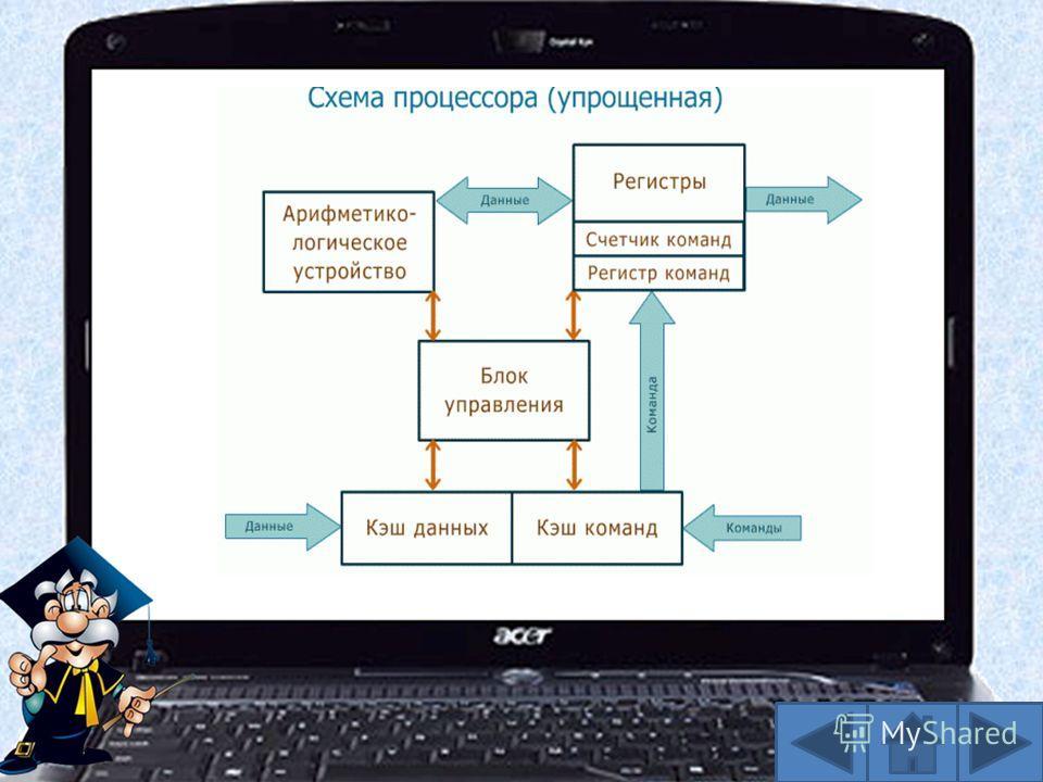 Центра́льный проце́ссор (ЦП; также центральное процессорное устройство ЦПУ; англ. central processing unit, CPU, дословно центральное обрабатывающее устройство) электронный блок либо интегральная схема (микропроцессор), исполняющая машинные инструкции
