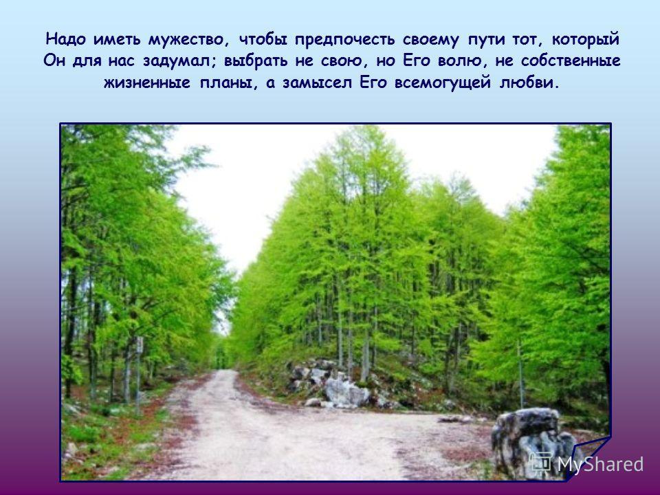 Нужно расчистить дорогу, устранив, одно за другим, все препятствия, поставленные нашим ограни-ченным способом вдения, нашей слабой волей.