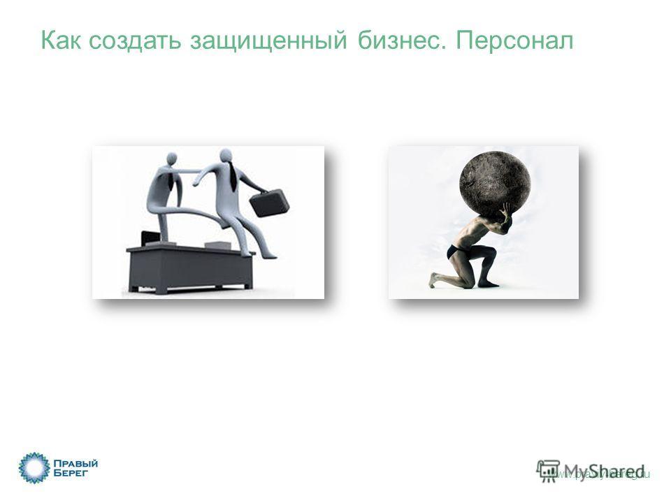 www.praviy-bereg.ru Как создать защищенный бизнес. Персонал