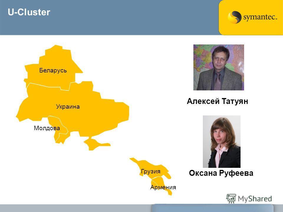 U-Cluster Украина Беларусь Молдова Грузия Армения Алексей Татуян Оксана Руфеева