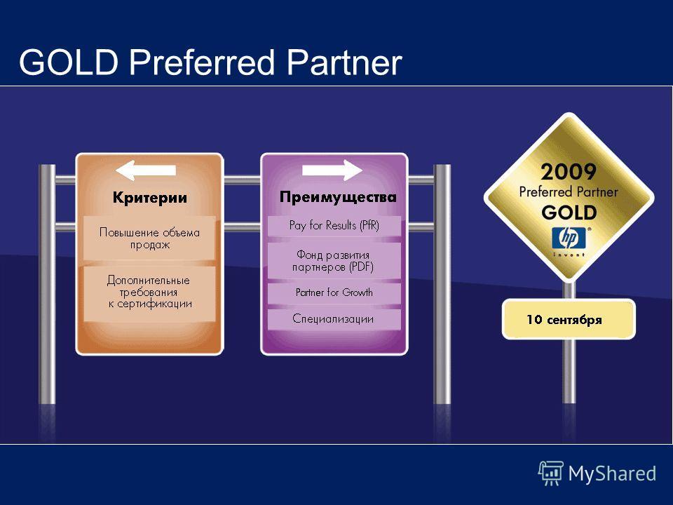6 14 мая 2008 г. GOLD Preferred Partner