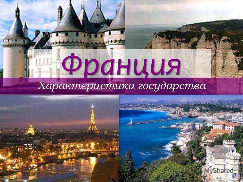Франция Характеристика государства