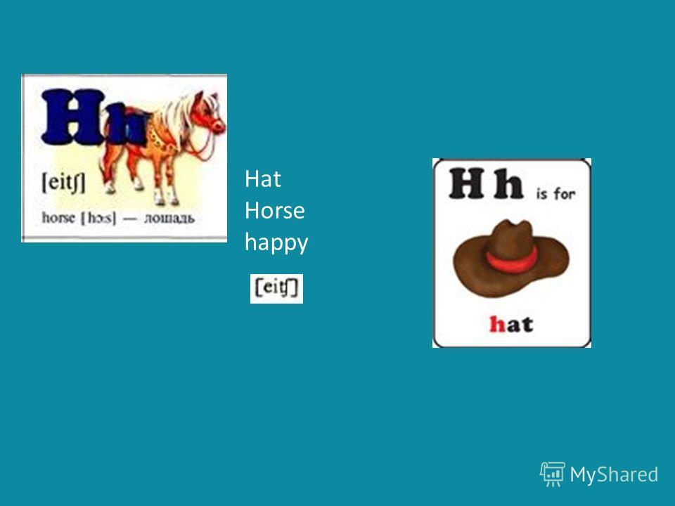 Hat Horse happy