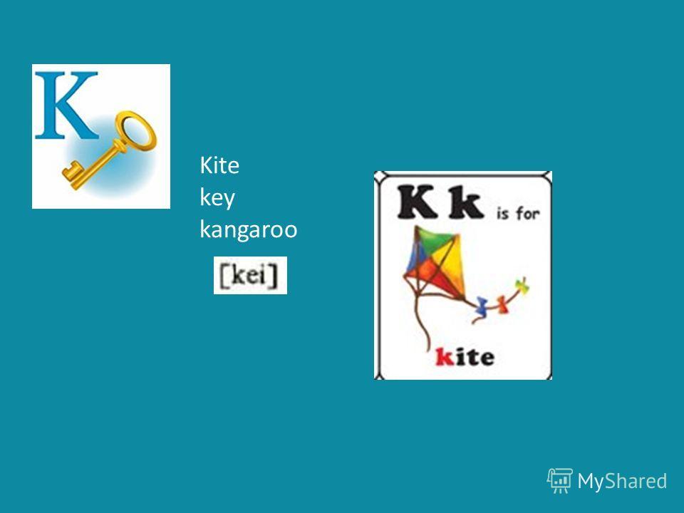 Kite key kangaroo