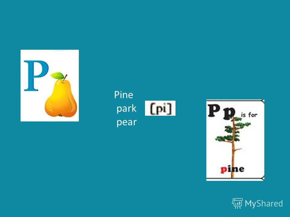 Pine park pear