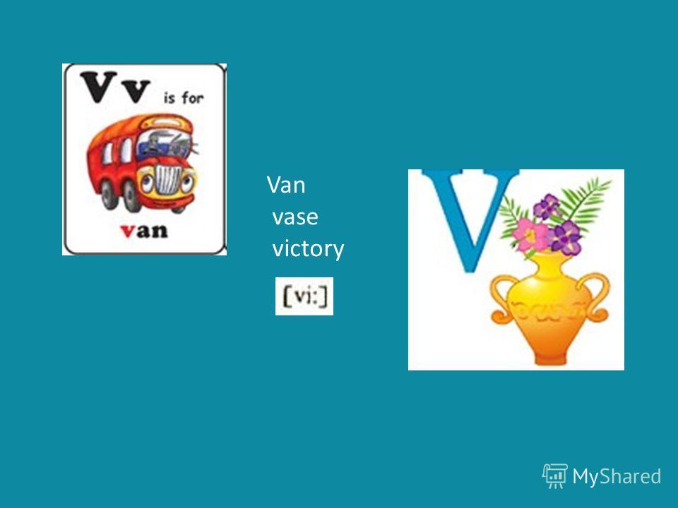 Van vase victory