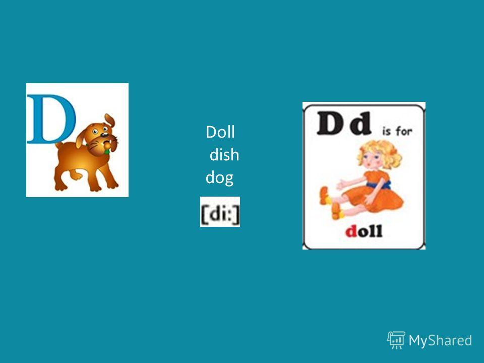 Doll dish dog