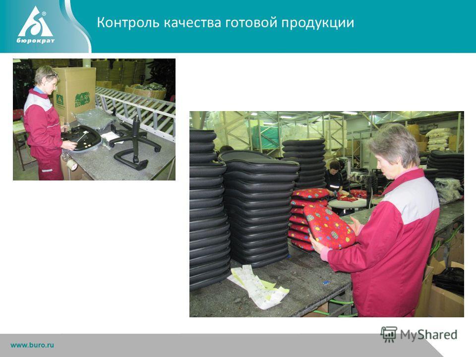 Контроль качества готовой продукции