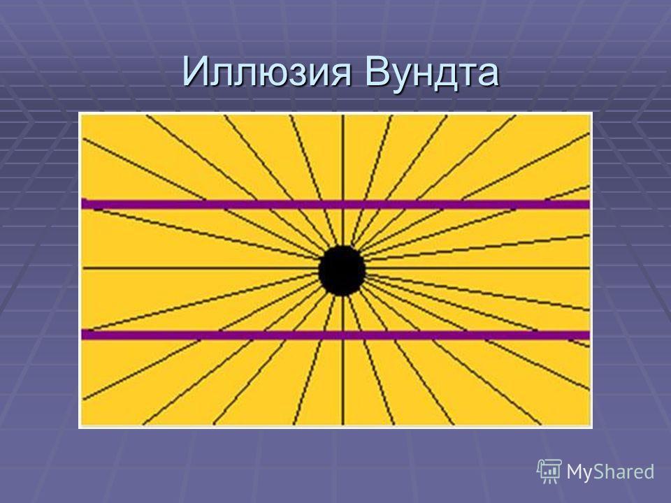 Иллюзия Вундта